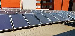 Sistema para calentamiento solar 1