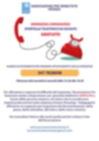 Locandina sportello telefonico modificat