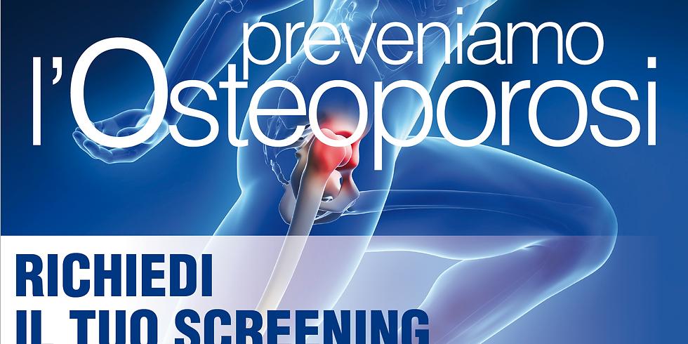Giornata di prevenzione dell'Osteoporosi
