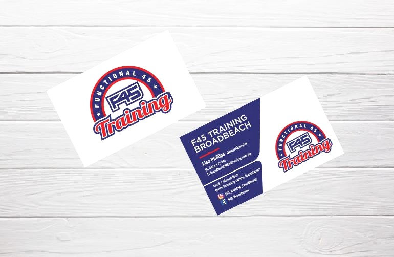 F45 Business Cards