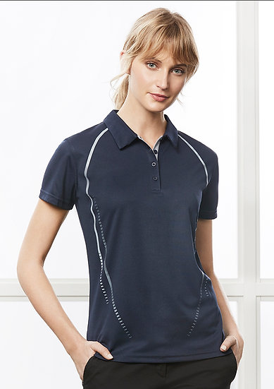Ladies Cyber Polo with Embroidered Logo Left Chest