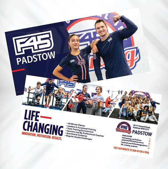 F45 DL Flyers