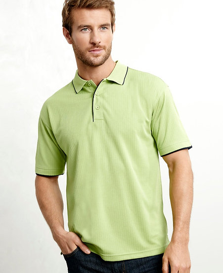 Mens Elite Polo with Embroidered Logo Left Chest