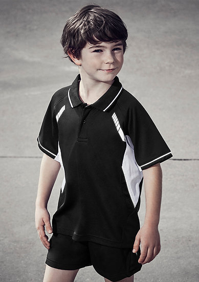 Kids Renegade Polo with Embroidered Logo Left Chest