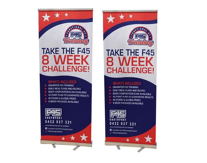 F45 Standard Banner Kit