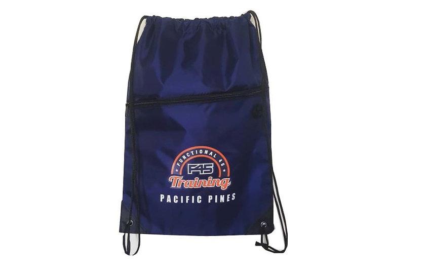 F45 Robin Drawstring Bag