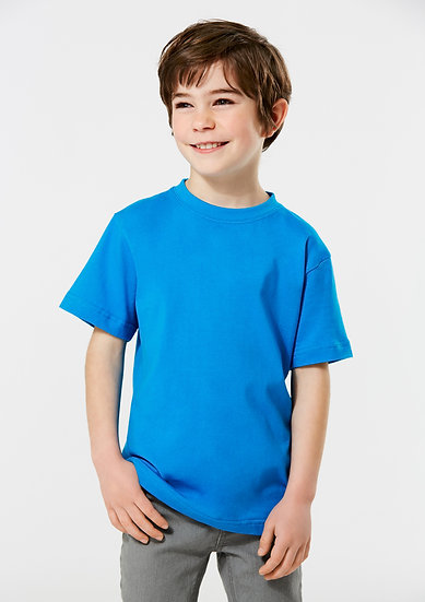 Kids Ice Tee with Embroidered Logo