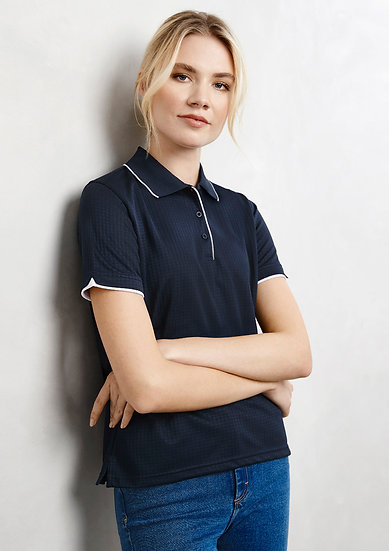 Ladies Elite Polo with Embroidered Logo Left Chest