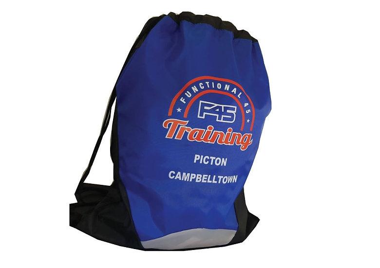 F45 Peter Drawstring Bag