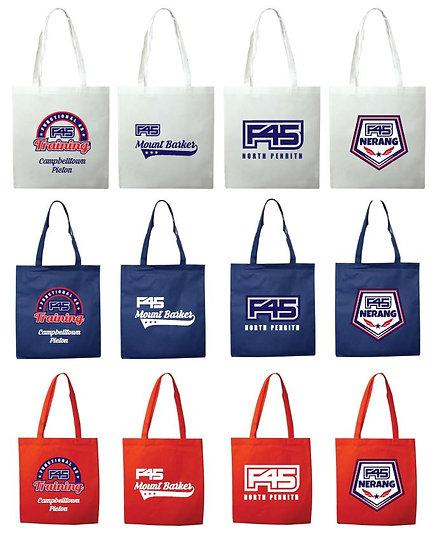 F45 Tote Bags