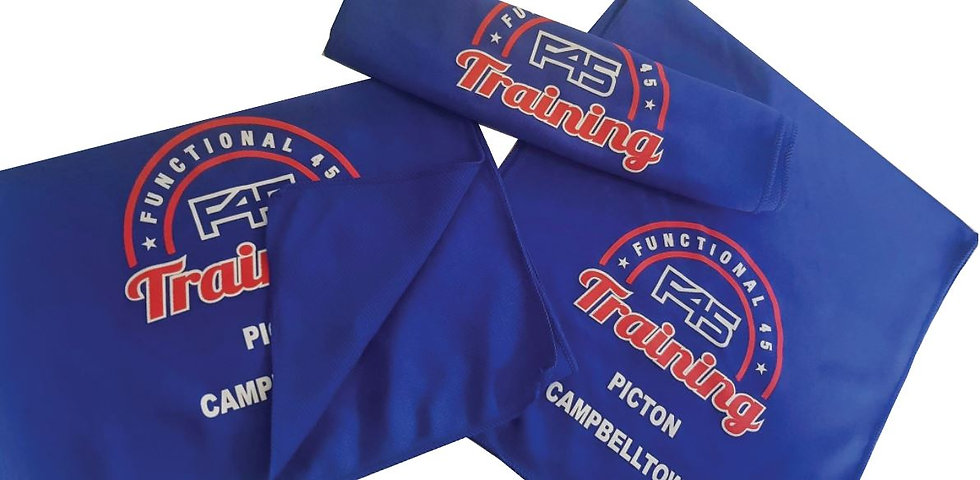 F45 Cooling Towels