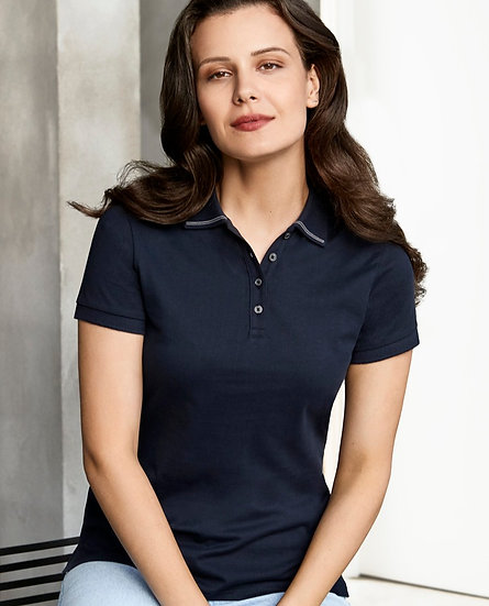 Ladies Aston Polo with Embroidered Logo Left Chest