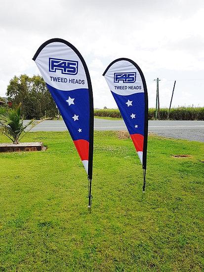 F45 Teardrop Flag Kit