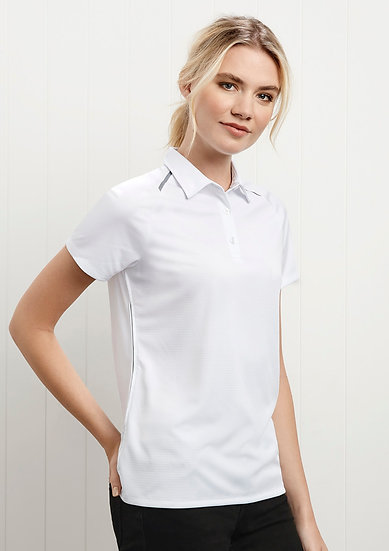 Ladies Academy Polo with Embroidered Logo Left Chest