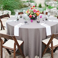 ashland event rentals tablecloth table linens