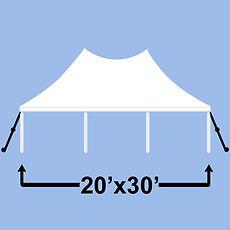 ashland event rentals graduation pole tent wisconsin