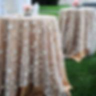 ashland event rentals table linens napkins