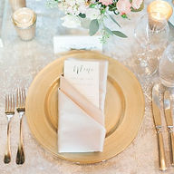 ashland event rentals plate chargers