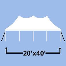 ashland event rentals pole tent