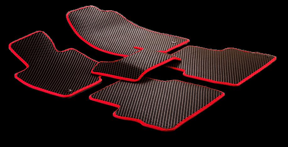 ЭВА  автомобильный коврик (комплект)