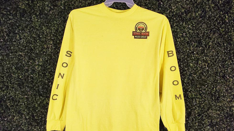 Neon Sonic Boom Long Sleeve T Shirt