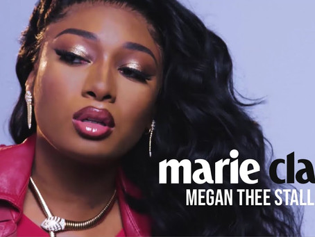 Megan Thee Stallion grabs the Cover and Interview with Marie Claire Magazine