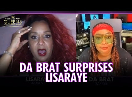 Video: Lisa Raye Confronts Da Brat Out In Live Stream Birthday Surprise