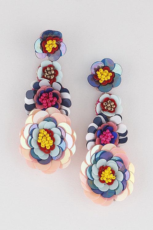 Pretty Flower- Earring