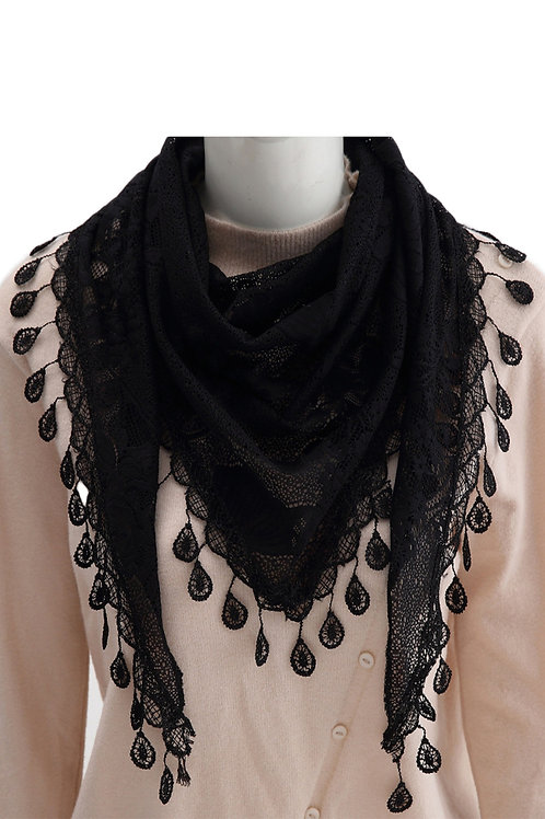 Pretty Laced- Black