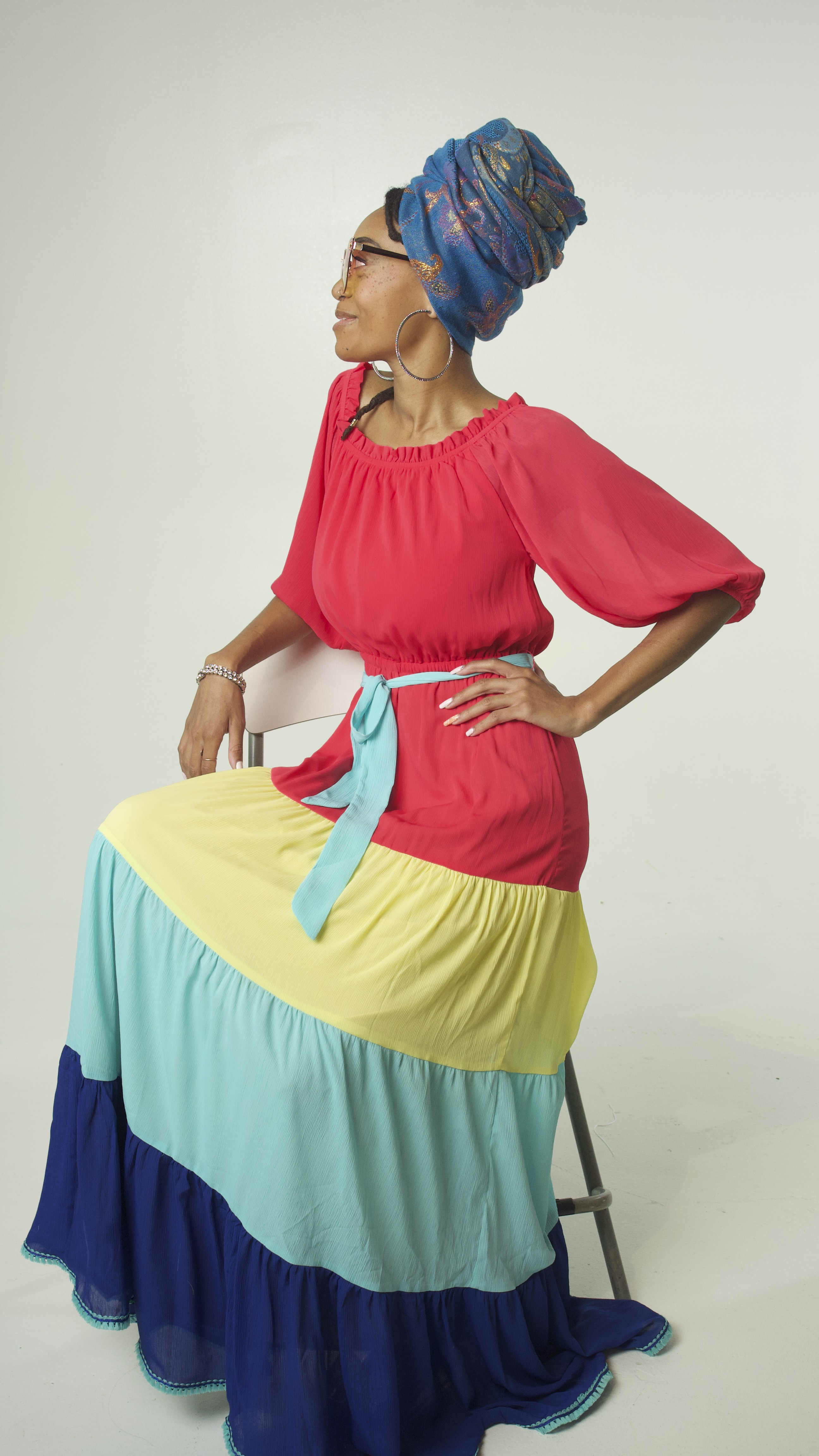Ayahna Dress Side