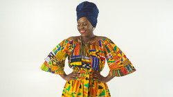 Shana Skirt Blouse Lookbook