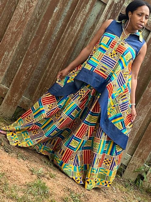Pretty Pattern- Blouse