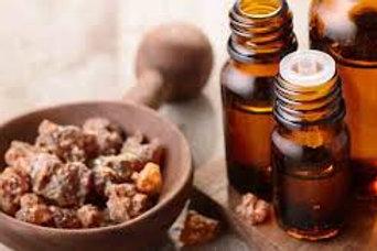 100% Pure Essential Myrrh + 100% Natural Grape Seed Oil