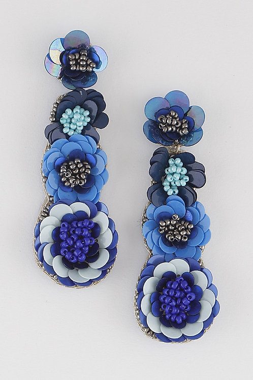 Pretty Flower- Blue