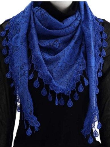 Pretty Laced- Royal Blue