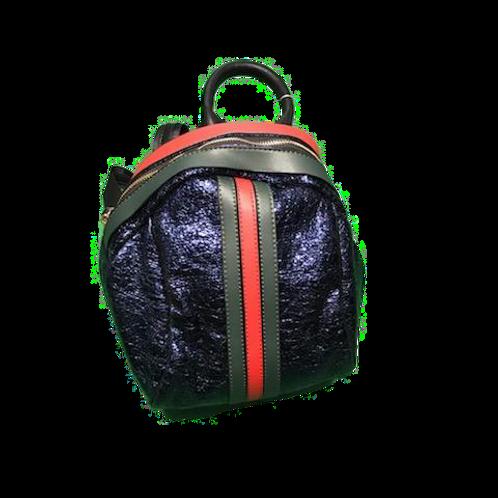 Beauty Bowler Backpack- Blue