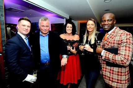 Jamie, Mark, Hayley with Nathan & Jess Palmer.