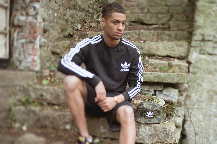 Shirt – Adidas Originals £33 Shorts – Adidas Originals £45 Hat – Adidas £22 From Scotts