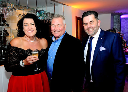 Hayley Parsons, Mark Loader and Adrian Harries.