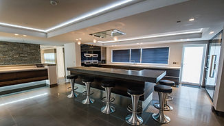Subtle kitchen lighting - Space Fitting Furniture