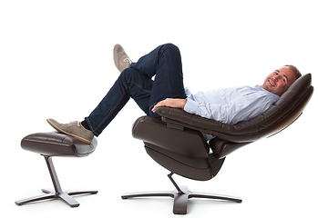 performance recliner chair, natuzzi re-vive, scott quinnell, lifestyle