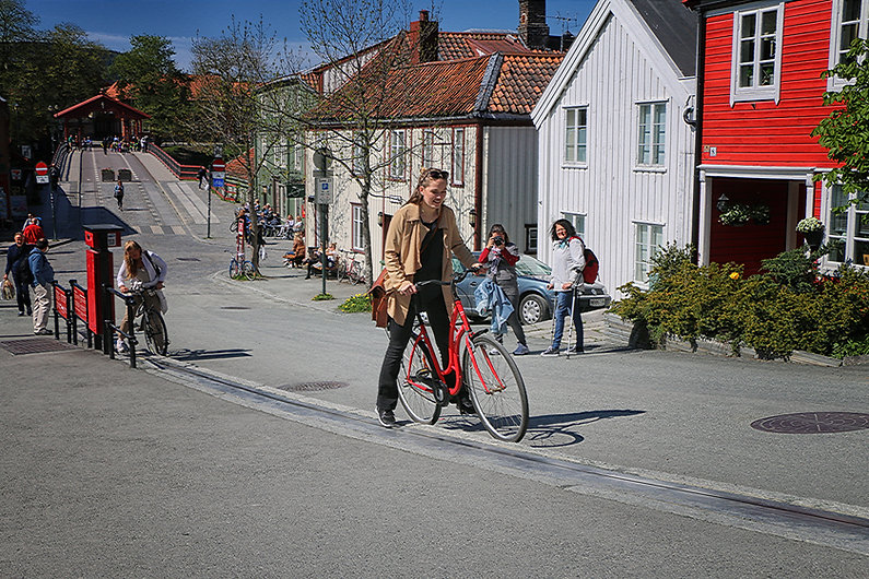 trondheim bike lift