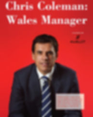 Chris Coleman, Wales manager, welsh football, interview