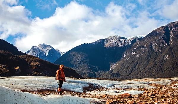 patagonia, exploradores glacier, travel