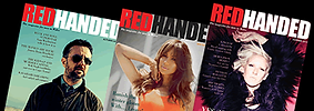 Redhanded Magazine Cover