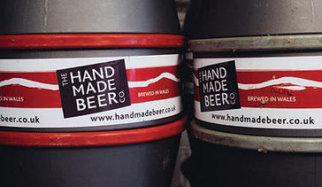 welsh craft brewers, the hand made beer co.