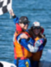 Power Boat World Champion, Daisy Coleman