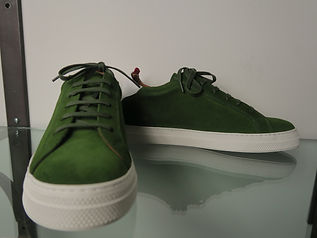 Oliver Spencer green sneakers