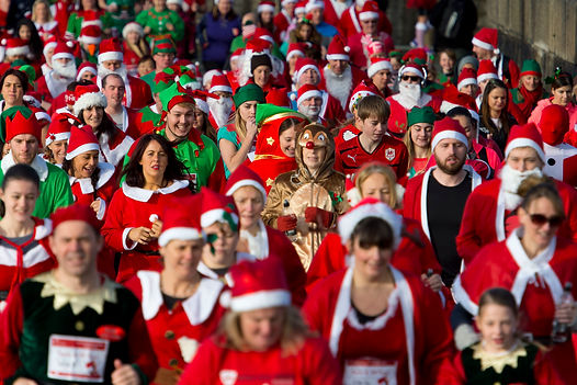 Welsh Hearts Christmas fun run