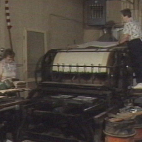 1990: Kansas Loses its Final Newspaper Printed on Manual Letterpress: Longtime Publisher Retires